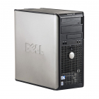 Dell Optiplex 780 Intel C2D E8500 3 16 GHz 4 GB DDR 3 250 GB HDD DVD R