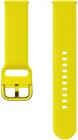 Curea Samsung Active Sport Band Yellow pentru Galaxy Watch Active Gear