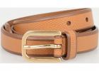 20 mm Saffiano Leather Belt