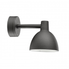 Aplica Toldbod 155 Wall Lamp by Louis Poulsen in black