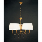 Plafoniera Mantra M0540 Paola Pendant 6 Light Gold Leaf