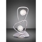 Lampa de birou Mantra M5018 Lux 2 Light Polished Chrome