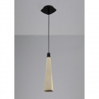 Lustra Mantra M5062 Ghery Pendant 1 Light Cement