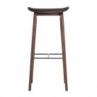 Scaun bar NORR11 NY11 Bar High 75cm Leather Seat