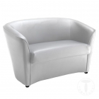 Canapea fixa sofa 2 seats VANESSA WHITE