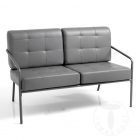 Canapea fixa sofa 2 seats JAZZ GREY