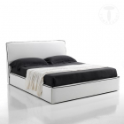 Pat matrimonial bed container BEA WHITE