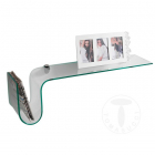 Raft living glass shelf HOOK