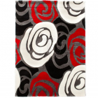 Covor Rug ROSE RED AND BLACK 160x230