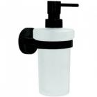 Dispenser sapun lichid Bemeta Dark cu montaj pe perete