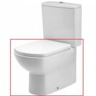 Vas WC Gala Smart monobloc lipit de perete 35 x 61 cm