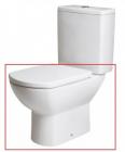 Vas WC Gala Smart monobloc pentru rezervor pe vas 35 x 65 cm