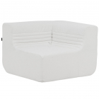 Canapea fixa Softline Loft outdoor modular corner unit speed white