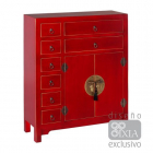 Dulap living AUXILIARY FURNITURE RED 73 X 26 X 90 CM