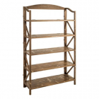 Raft living SHELVING NATURAL WAY WOOD METAL 108 X 38 X 180 30 CM