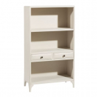 Raft living SHELVING 2 DRAWERS CREAM MDF WOOD 80 X 35 X 140 CM