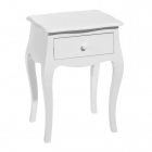Masuta cafea LITTLE TABLE 1 DRAWER GREY 42 X 35 X 59 CM