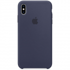 Husa Protectie Spate iPhone XS Max Silicone Case Midnight Blue
