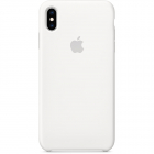 Husa Protectie Spate iPhone XS Max Silicone Case White