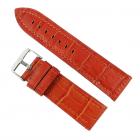 Curea de ceas din piele natural Maro 24mm WZ2881