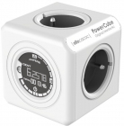 Priza prelungitor Allocacoc PowerCube Original Monitor DE 4x Schuko Bl