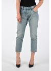 18cm Distressed Denim 501CT L32 Jeans