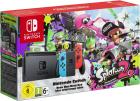 Consola Nintendo Switch Gray Joy Con Neon Red si Neon Blue Joc SPLATOO