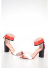 8cm Patent Leather Sandals