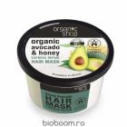 Masca BIO pentru Par Degradat cu Avocado si Miere 250 ml