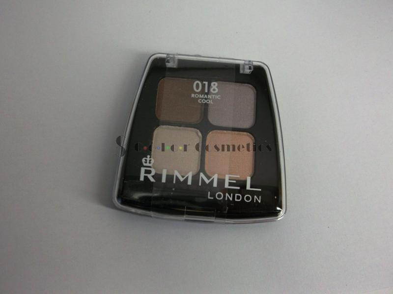 Fard Rimmel Colour Stay Quad - Romantic Cool