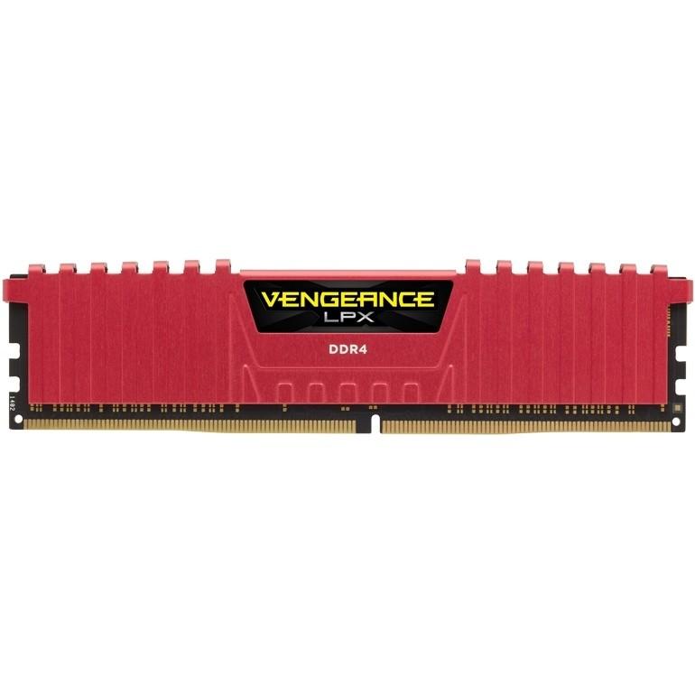 Memorie Vengeance LPX Red 8GB DDR4 2400 MHz CL16