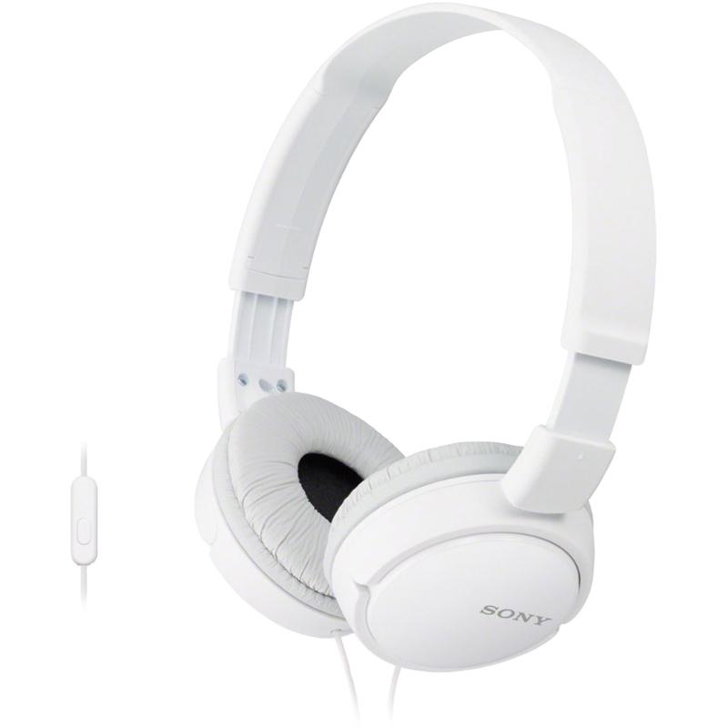 Casti Sony MDR-ZX110AP white