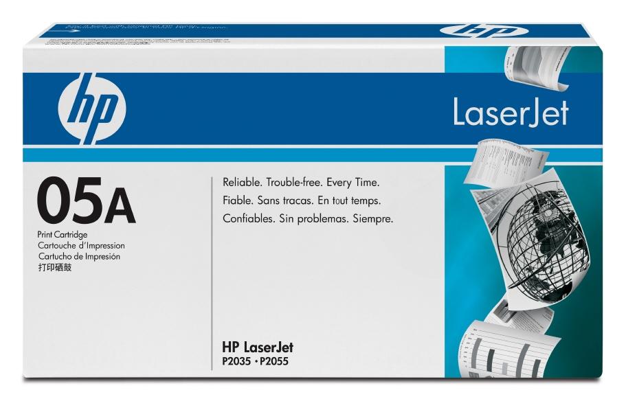 Cartus: HP LaserJet P2035, P2055 OEM