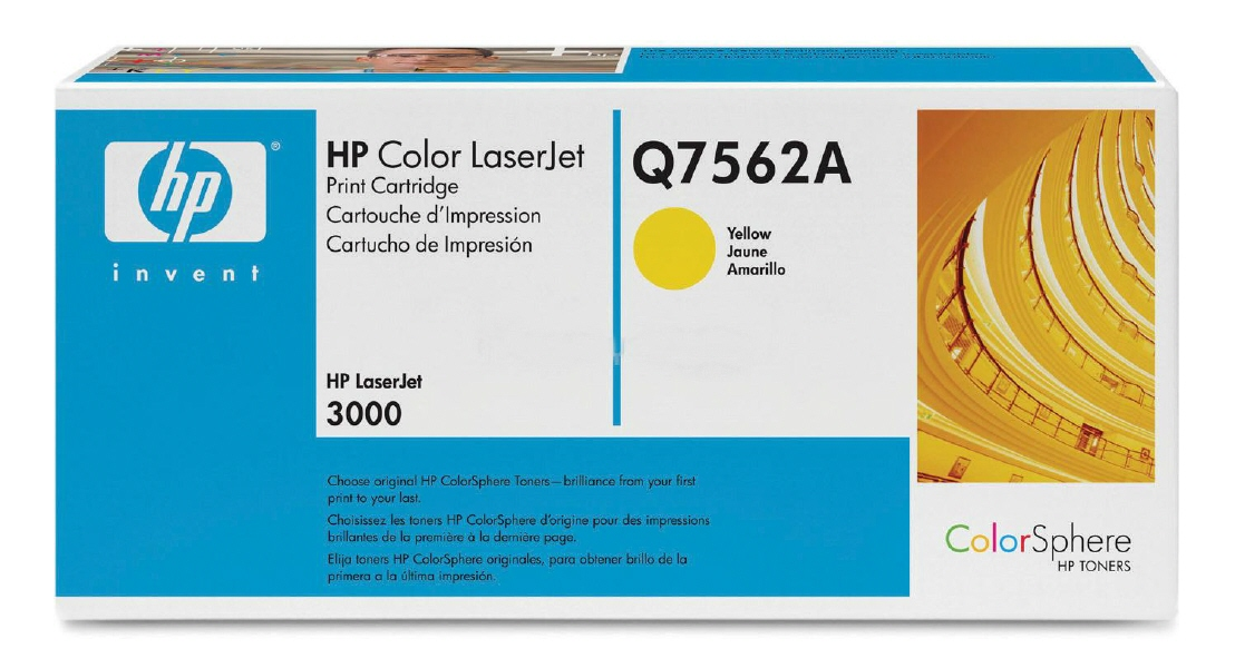 Cartus: HP Color LaserJet 3000 Series WITH CHIP - Yellow