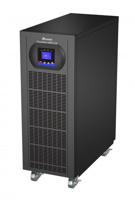 UPS MUSTEK PowerMust 6054 online LCD (6KVA), IEC (include timbru verde 3 lei)