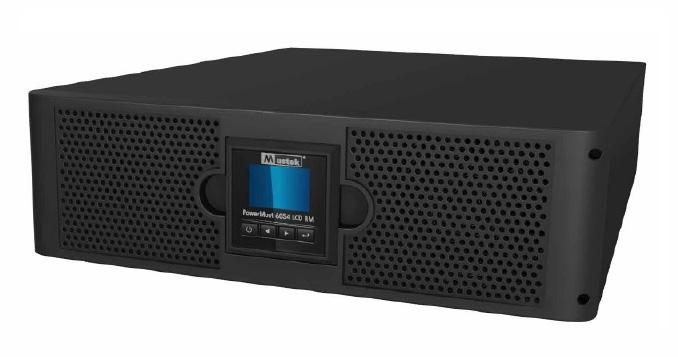 UPS MUSTEK. PowerMust 6054 online LCD RM (6KVA), IEC (include timbru verde 3 lei)