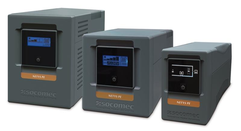 UPS SOCOMEC Netys PE-LCD 1500VA (include timbru verde 3 lei)