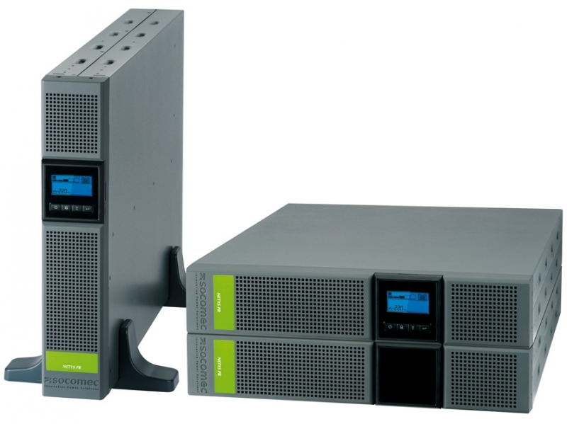 UPS SOCOMEC Netys PR RT 2200VA 'NPR-2200-RT' (include timbru verde 3 lei)