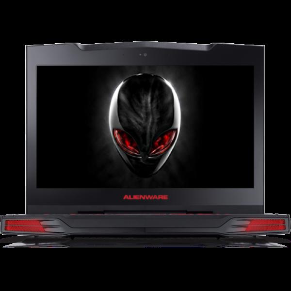 Laptop ALIENWARE, 15, Intel Core i7-4720HQ, 2.60 GHz, HDD: 256 GB, RAM: 16 GB, video: Intel HD Graphics 4600, nVIDIA GeForce GTX 980M, webcam