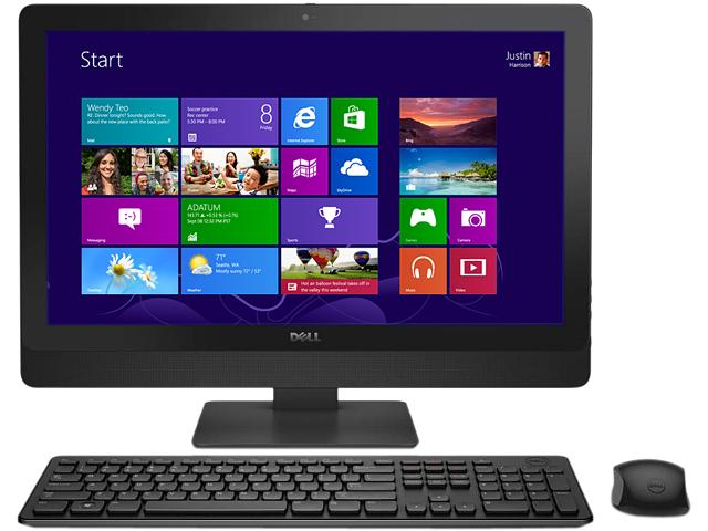 Aio DELL, OPTIPLEX 9030 AIO, Intel Core i5-4590S, 3.00 GHz, HDD: 500 GB, RAM: 8 GB, unitate optica: DVD RW, video: Intel HD Graphics 4600, webcam, 23' LCD (FHD), 1920 x 1080