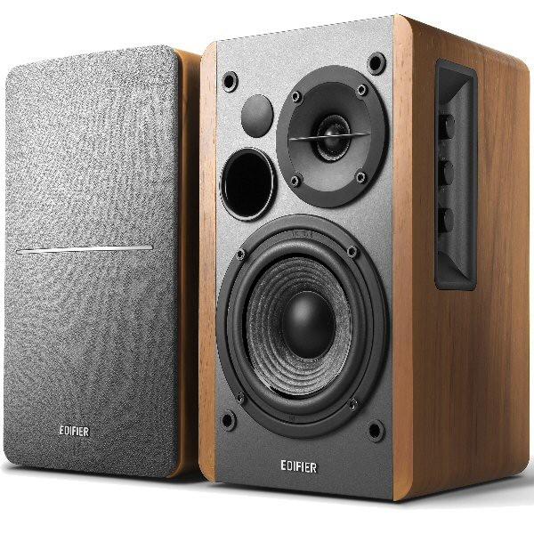 BOXE 2.0 EDIFIER, RMS: 42W (21W x 2), volum, bass, treble, telecomanda wireless 'R1280T' (include timbru verde 1 leu)