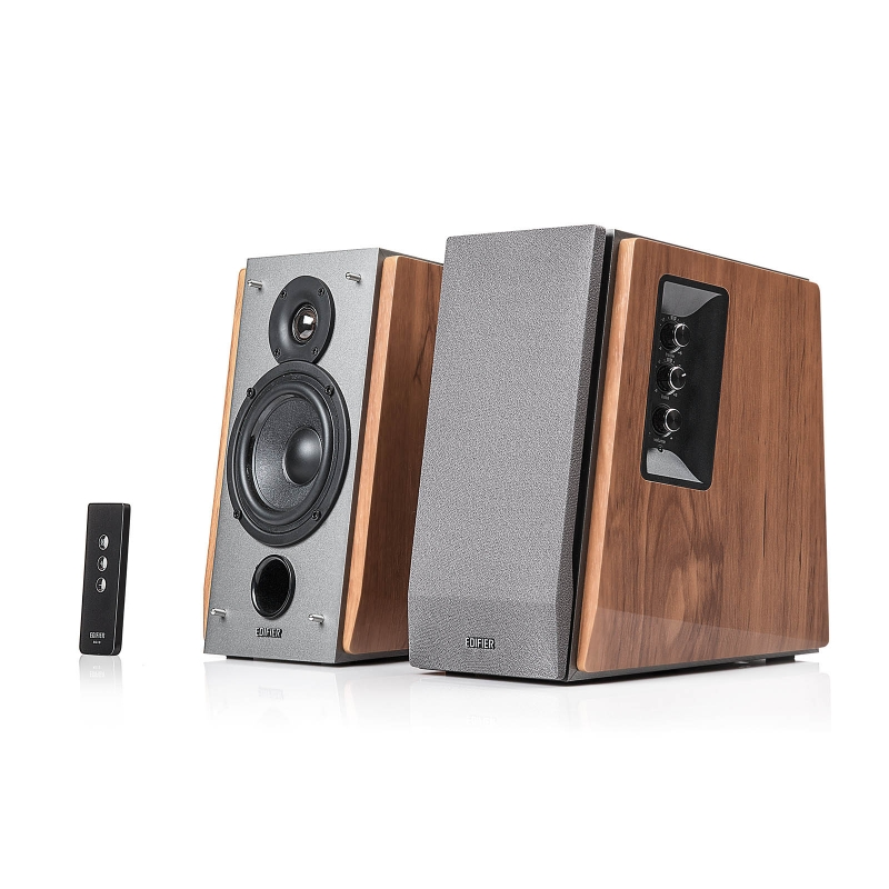 BOXE 2.0 EDIFIER, RMS: 60W (13W x 2, 17W x 2), volum, bass, treble, telecomanda wireless, dual RCA 'R1600TIII' (include timbru verde 1 leu)