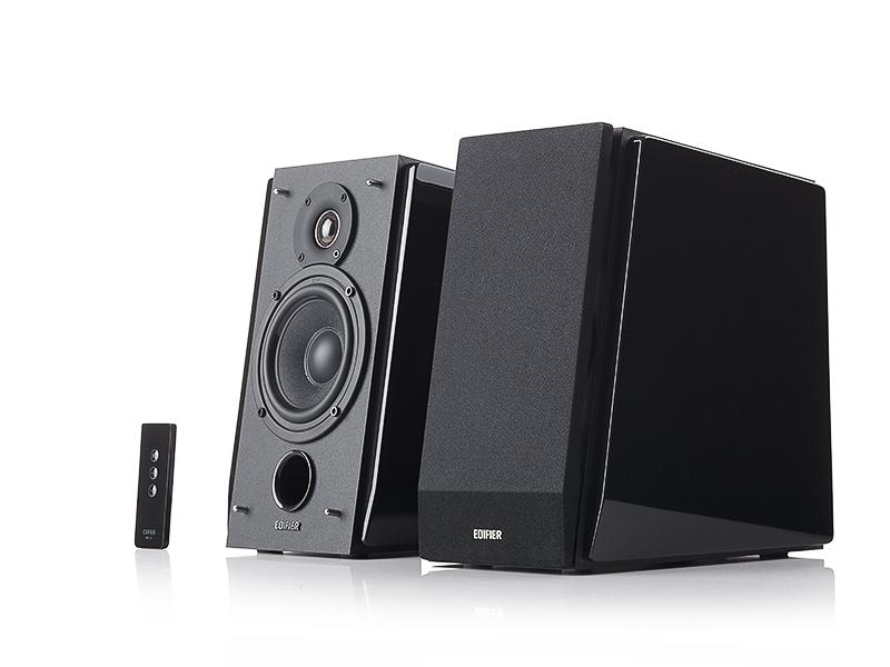 BOXE 2.0 EDIFIER, RMS: 70W (35W x 2), volum, bass, treble, telecomanda wireless, dual RCA 'R1800TIII' (include timbru verde 1 leu)