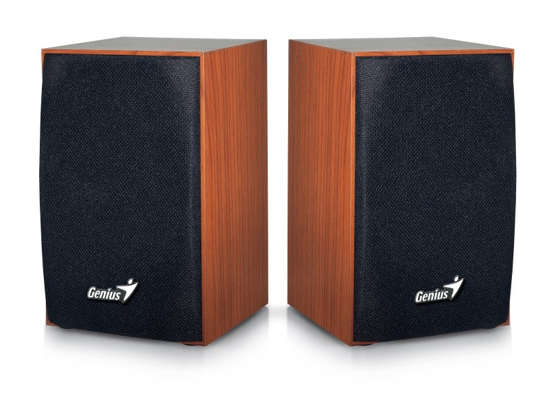 BOXE 2.0 GENIUS 'SP-HF160', RMS: 2Wx2, cherry wood, USB power '31731063101' (include timbru verde 0.01 lei)