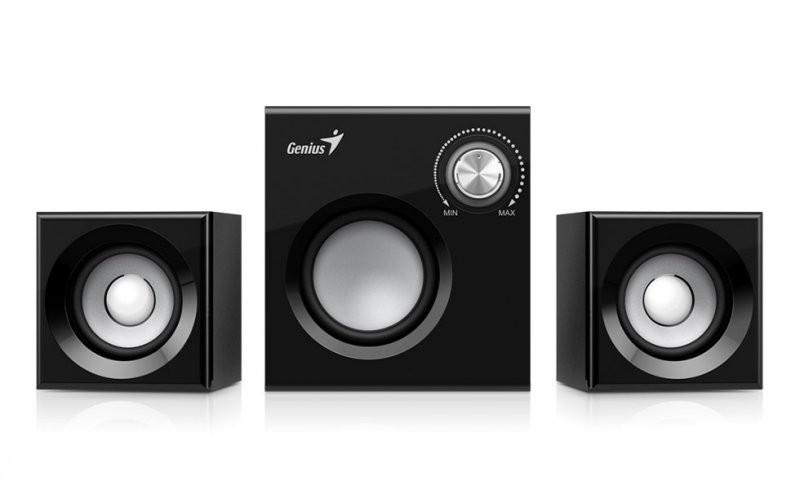 BOXE 2.1 GENIUS 'SW-2.1 370', RMS: 1Wx2 + 6Wx1, black '31731067100' (include timbru verde 1 leu)