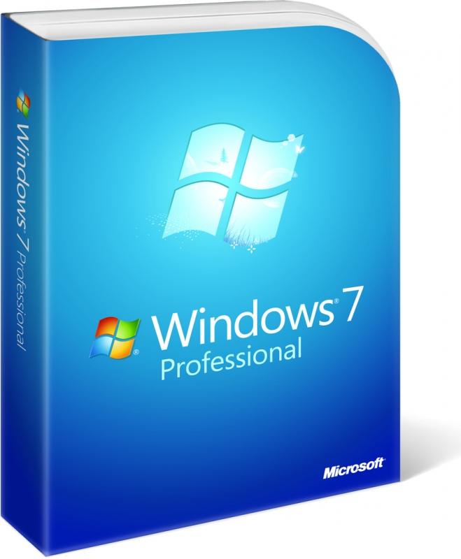 LICENTA WIN 7 Pro SP1 64 bit ENG OEM 'FQC-08289'