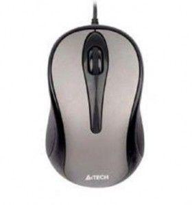Mouse USB A4TECH V-Track Padless, Black (N-350-1), wired cu 3 butoane (buton Getsure cu 8 functii) si 1 rotita scroll, rezolutie 1000-2000dpi si cablu de 60cm