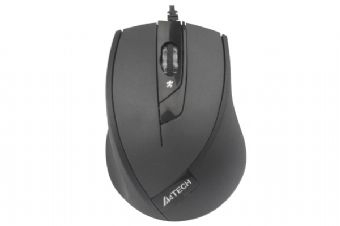Mouse Optic USB A4TECH V-Track (N-600X-1), Black, wired cu 3 butoane si 1 rotita scroll, rezolutie 1000-2000dpi