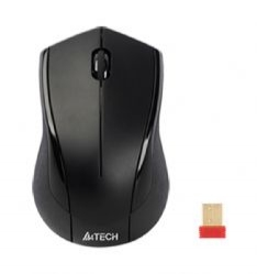 Mouse Wireless A4TECH V-Track (G7-600NX-1), Black ,wireless cu 2 butoane si 1 rotita scroll, rezolutie ajustabila 1000-2000dpi