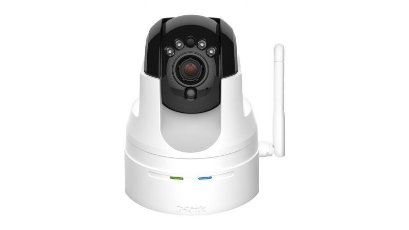 Camera IP wireless, PTZ, HD, Day and Night, Indoor, 2-way audio, D-Link (DCS-5222L)